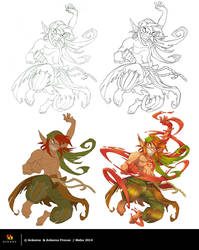 Sacrieur Dofus Mag 41 - Ste by step by MabaProduct