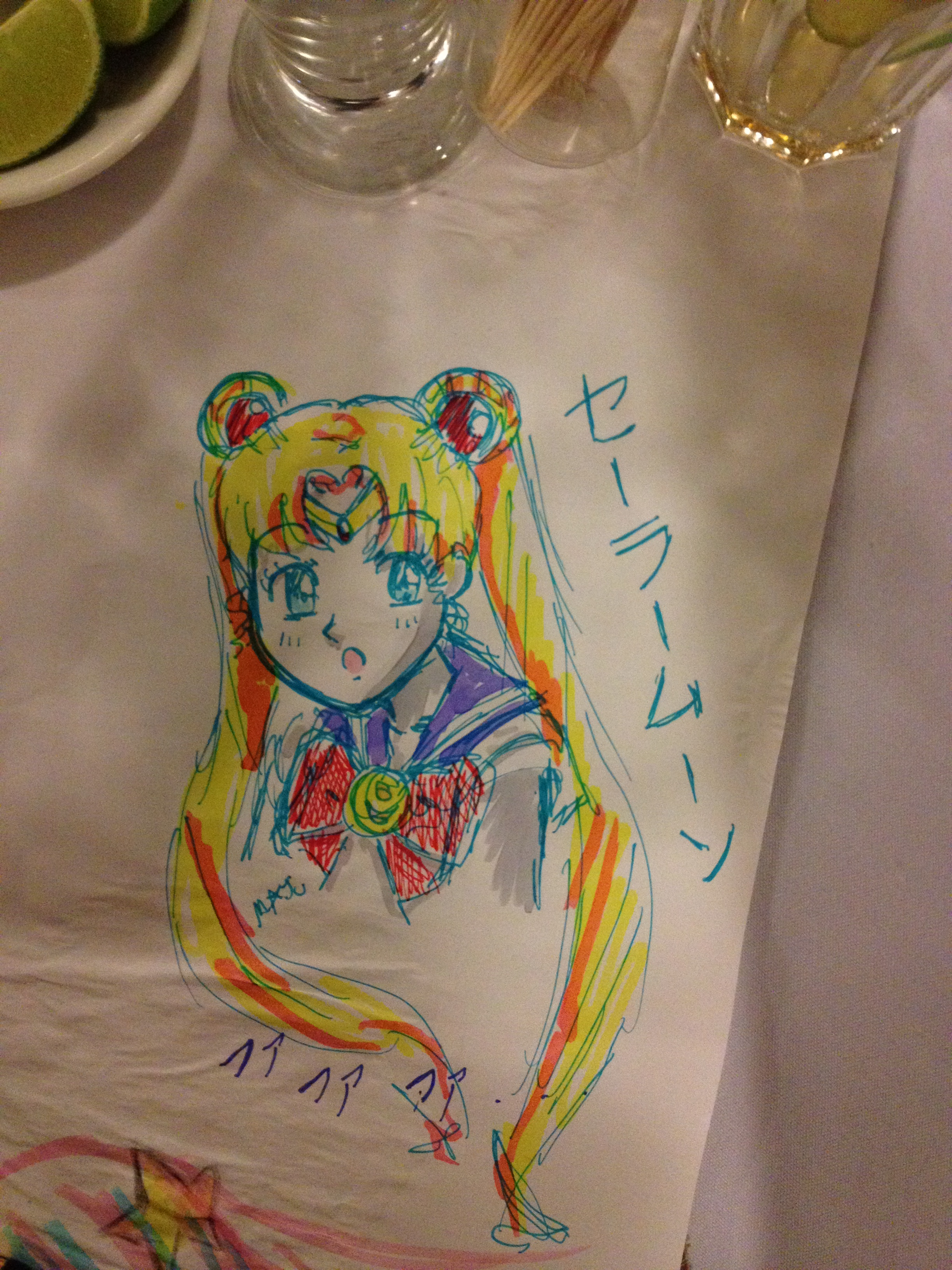 Sailor Moon Scketch by MaJuSaBe