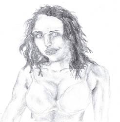 lady by krazeesnowman