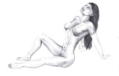 Nude Beauty by krazeesnowman
