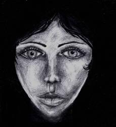 Lady In The Dark by krazeesnowman