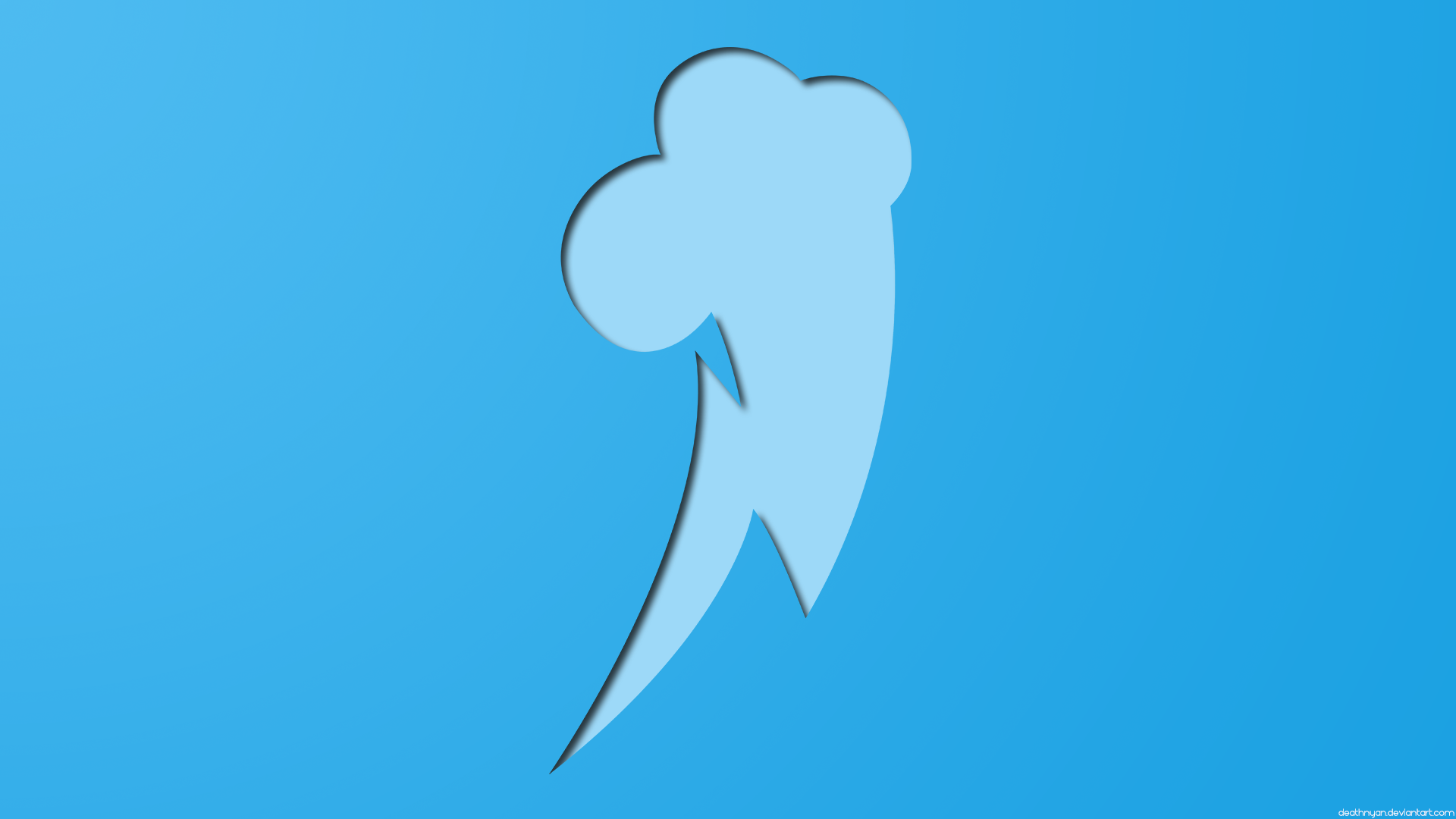 Windows 8 Wallpaper - Rainbow Dash by DeathNyan on deviantART