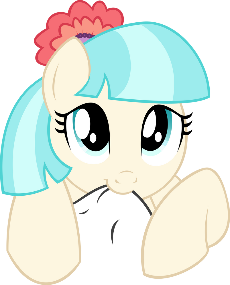 Coco Pommel Noms Your Clothing (Request) by DeathNyan