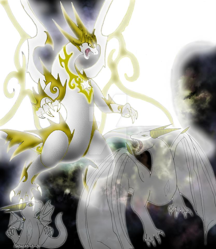 Dragons Of Light By Lightdragon777 On Deviantart