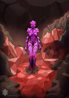 Crystal Woman by dragonkan