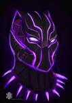 black panther by dragonkan