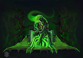slick demon by dragonkan