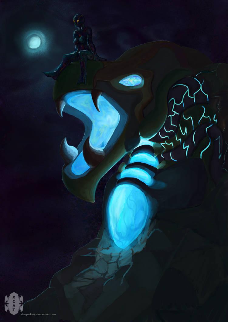 night walker by dragonkan