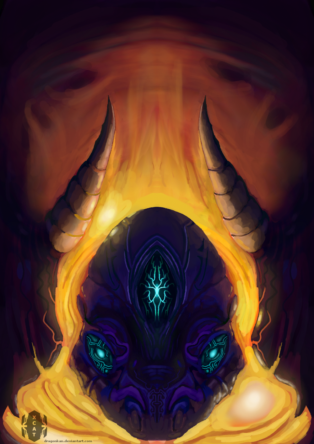 fire mind by dragonkan
