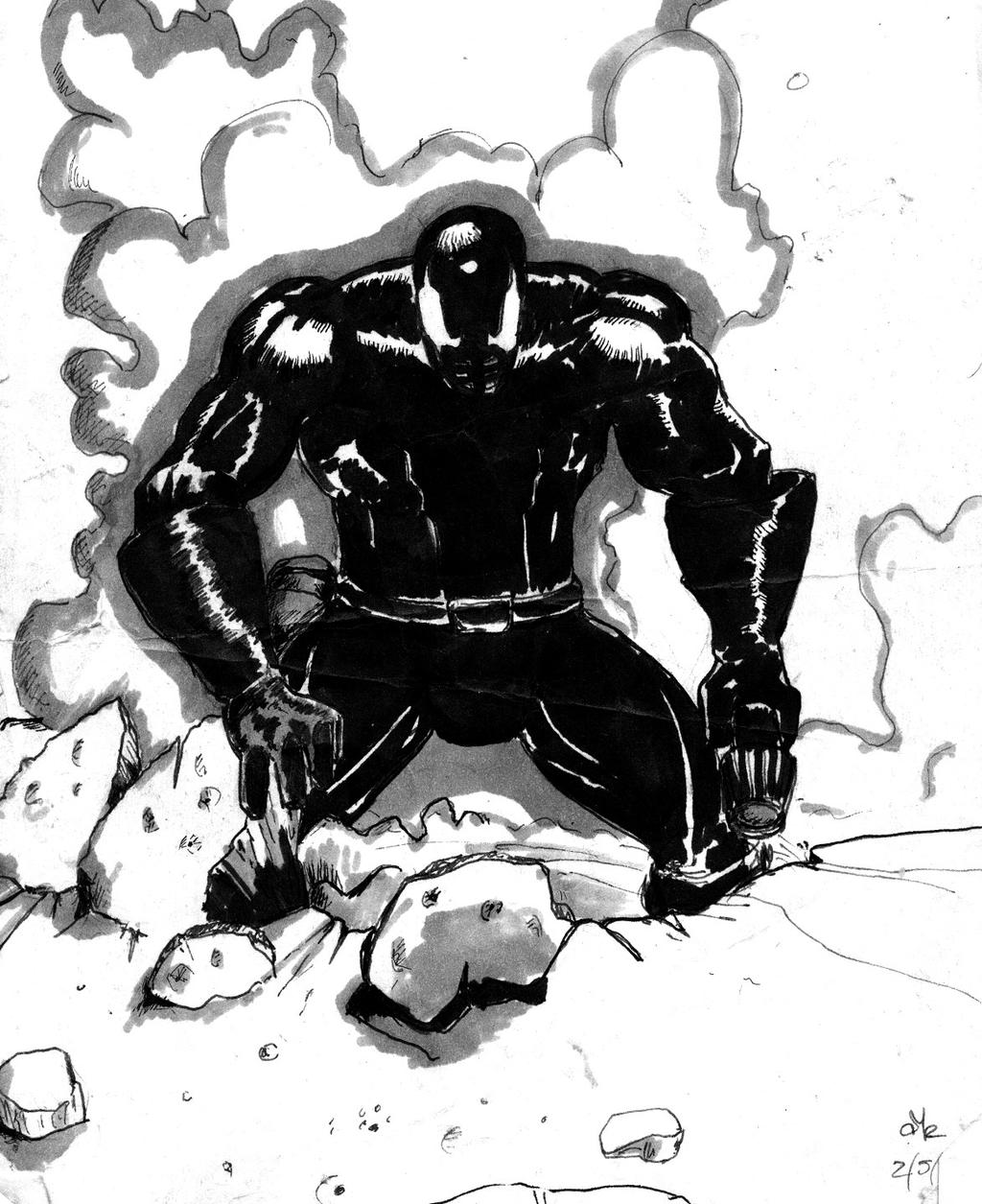 the black and white of grendel Winner of 1999 eisner awards for best anthology each issue was penned by  matt wagner with a variety of guest artists contributing.