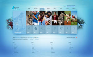 Sport layout by ECP-Pro