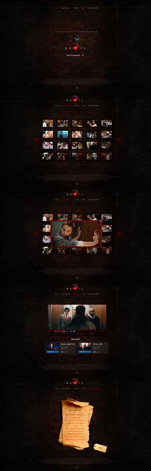 Devil Website by ECP-Pro