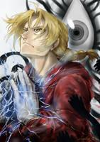 Edward Elric by DarthShizuka
