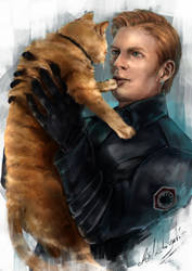 Hux and Millicent by DarthShizuka