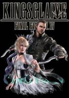 Kingsglaive commission for Fantasy Cloud by DarthShizuka