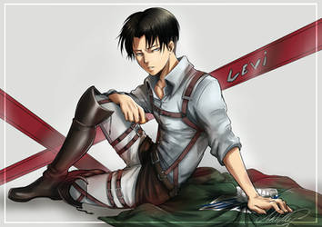 Happy Birthday, Levi! by DarthShizuka