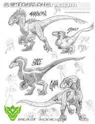 sneak peek of the raptoricons part 2 by MAXMEGA