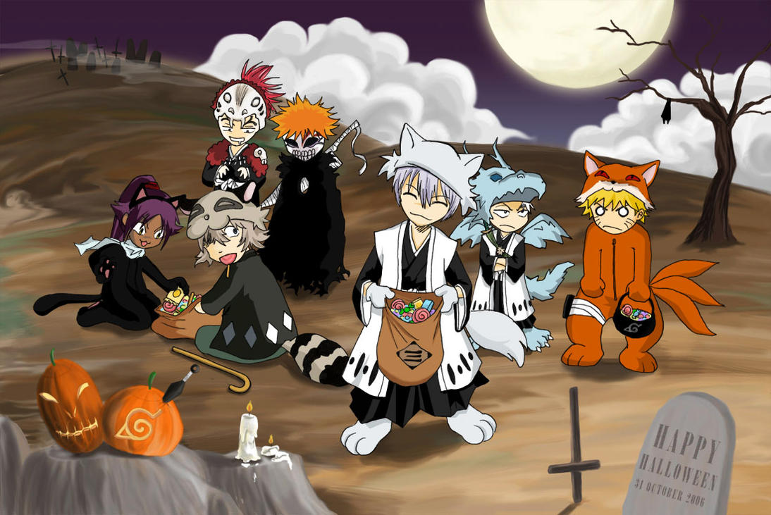 Wonderful Wallpaper Halloween Naruto - bleach__halloween_by_htkchidori  Trends_37525.jpg