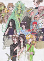 Personajes MDI by Alinechan