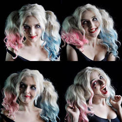 Harley Quinn Make up tester by Alinechan