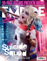 Harley Quinn Magazine by Alinechan