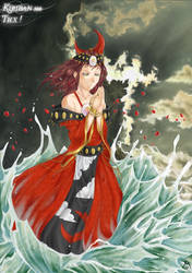 Kiriban 300 : Moon Goddess