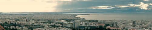 Thessaloniki almost 180. by kthanos
