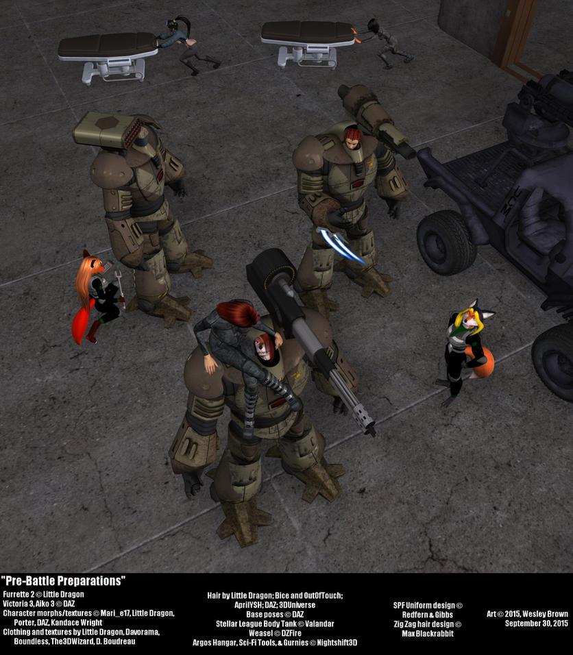 Pre-Battle Preparations by Desgar