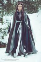 Elven Winter Costume 2009 by LenoraGewandungen