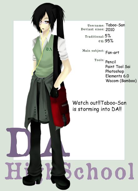 Taboo-San's Profile Picture