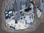 The Batcave full.