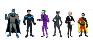 Batman Characters Wave 1.