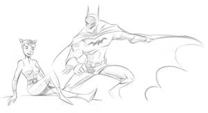 The Bat and The Cat. by scootah91