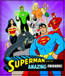Superman and his Amazing Friends.