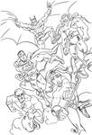 JLA Team sketch