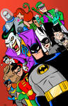 Batman the Animated Series Poster IN COLOR!