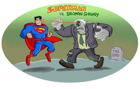 Superman VS. Solomon Grundy