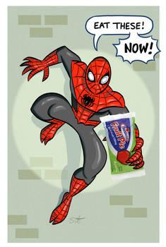 Superior Spider-man Fake Hostess Add.