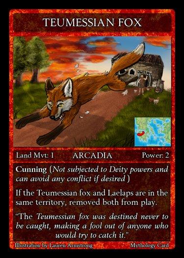 Teumessian fox greek mythology - photo#5