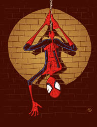 Spiderman hangin' out by phillip-r