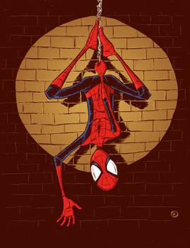Spiderman hangin' out