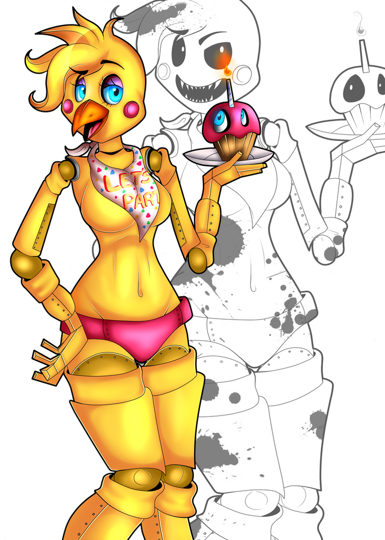 Toy Chica by FerociousApplesauce