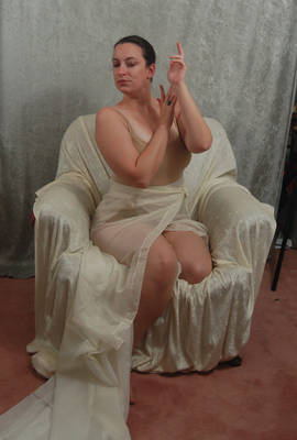 Seated Nouveau Lady 11