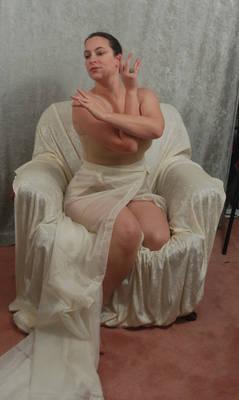 Seated Nouveau Lady 10