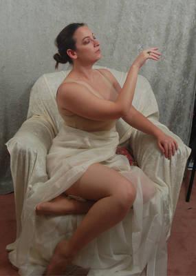 Seated Nouveau Lady 8