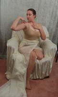 Seated Nouveau Lady 5
