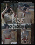 POSE SHEET 5 of 6: Geisha Sword