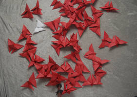 Origami Butterflies 3
