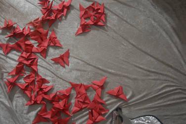Origami Butterflies 4