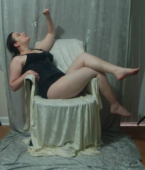 Seated Nouveau Lady 15